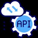 Cloud & Api Integration Icon